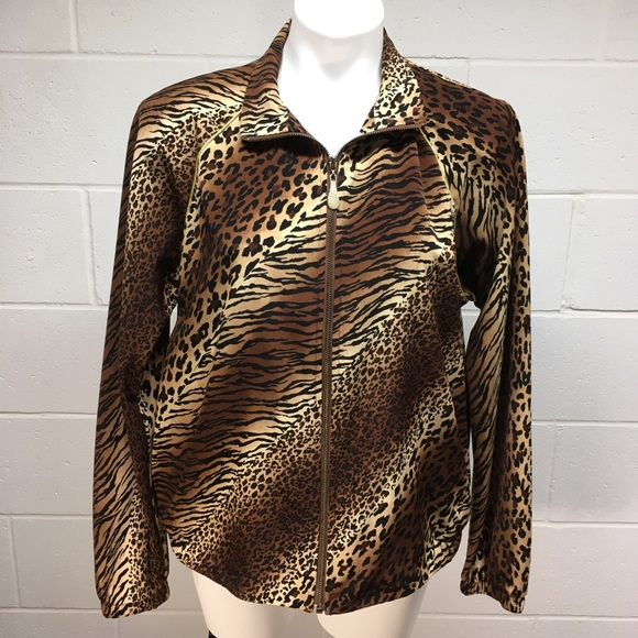 Teddi Jackets & Blazers - Vintage Animal Print Jacket